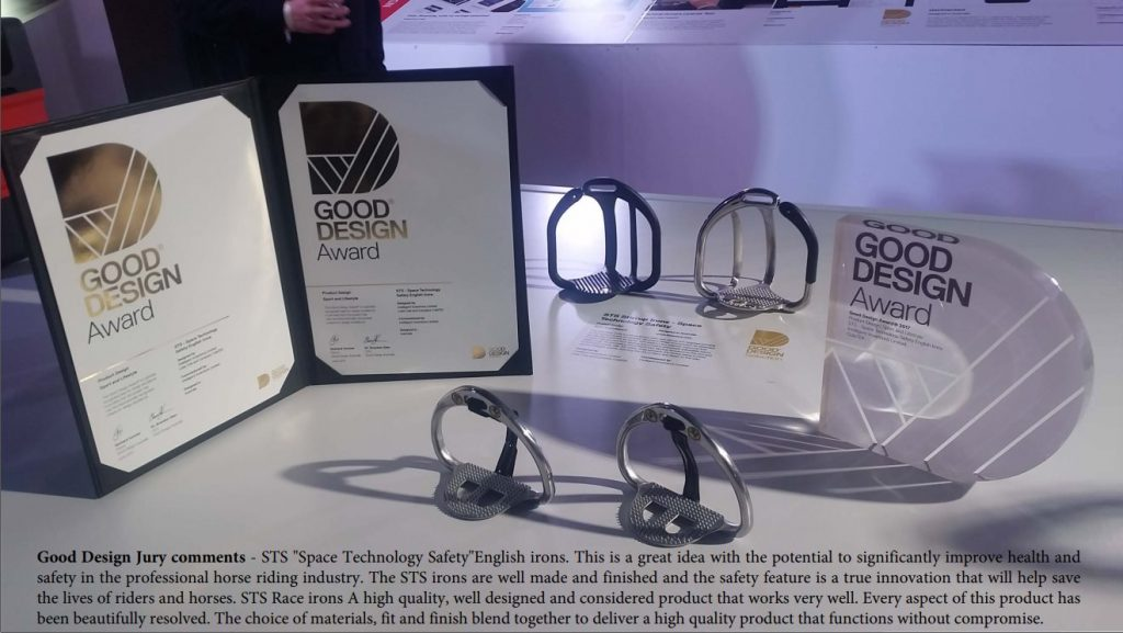 good design award for STS Irons